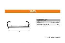 Tezgah Önü ve Baza Profili 1003