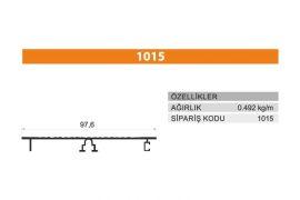 Tezgah Önü ve Baza Profili 1015