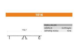 Tezgah Önü ve Baza Profili 1016