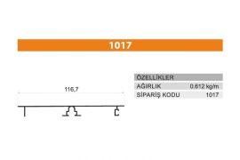 Tezgah Önü ve Baza Profili 1017