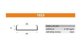 Tezgah Önü ve Baza Profili 1023