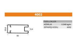 Frame Cover Profiles 4002