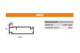 Frame Cover Profiles 4003