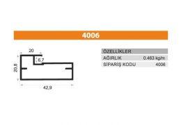 Frame Cover Profiles 4006