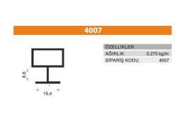 Frame Cover Profiles 4007