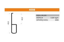 Frame Cover Profiles 4008