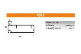 Frame Cover Profiles 4012