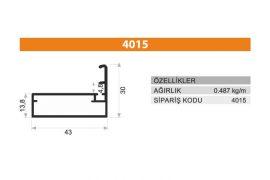 Frame Cover Profiles 4015