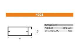 Frame Cover Profiles 4028