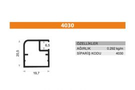 Frame Cover Profiles 4030