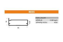 Frame Cover Profiles 4035