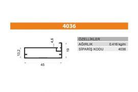Frame Cover Profiles 4036