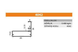 Frame Cover Profiles 4042