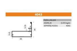 Frame Cover Profiles 4043