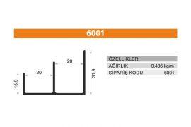 Rail Profiles 6001
