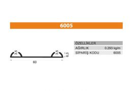 Rail Profiles 6005