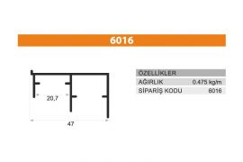 Rail Profiles 6016