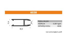 Rail Profiles 6038