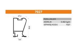Sürme Kapak Profili 7027