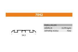 Sürme Kapak Profili 7042